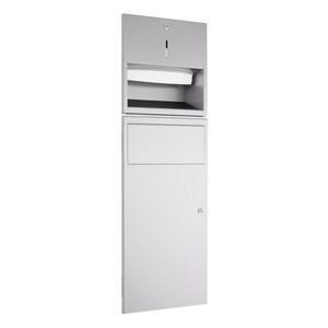 WP530R Dolphin Prestige Towel Dispenser and Waste Bin Combination Unit