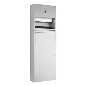 WP535 Dolphin Prestige Towel Dispenser and Waste Bin Combination Unit