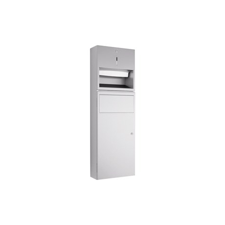 WP535 Dolphin Prestige Towel Dispenser and Waste Bin Combination Unit