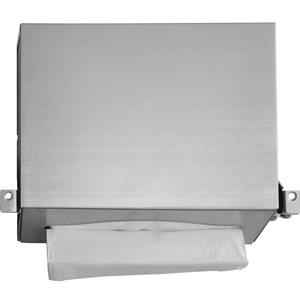 BC5262-103 Dolphin Behind Mirror Hand Towel Dispenser