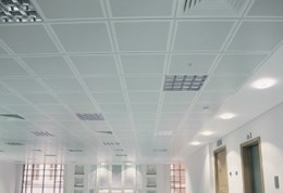 Tegular TypeC - Suspended metal ceiling