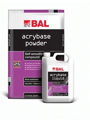 Acrybase - Self-smoothing compound
