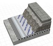 DELTA® TERRAXX in drivable roof decks
