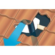 Saxon 10 Slate Redline Vent Tile