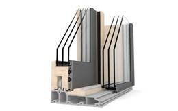 HS 330 Timber And Aluminium Lift-Sliding Door - Model A