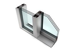 KS 430 PVC-U And Aluminium Lift-Sliding Door - Model A