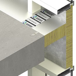 SIDERISE CW-FS Perimeter Barriers and Firestops for Curtain Walling (formerly Lamatherm CW-FS)