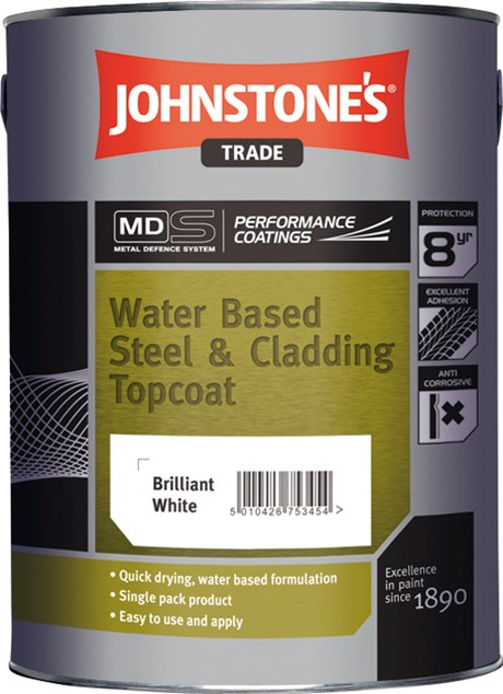 Water Based Steel and Cladding Topcoat