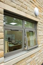 Hybrid Series 1 Composite Casement Window System [Curtain Wall Placement]