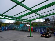 Free Standing Mono Pitch - Portal Frame & Lattice Beams