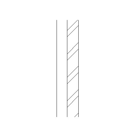 Composite insulated metal cladding panels and steel frame