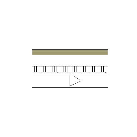 Ground bearing floor with timber sheeting, battens, concrete slab and rigid board insulation