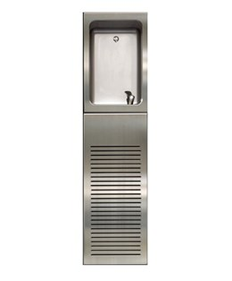 Drinking Water Fountain with Bubbler and Chiller Housing -05.3007