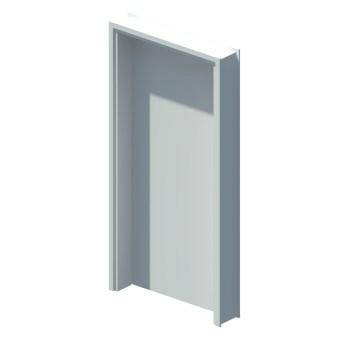 Internal single leaf door
