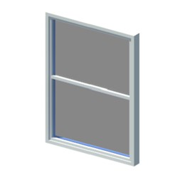 Window for standard opening sizes