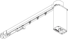5600 Electric Curtain Track - Straight
