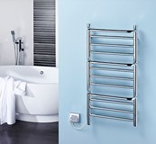 Towel Rails (Chrome) - CPTS Stepped