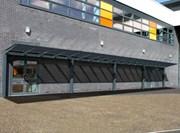 Kensington Mono Pitch Solar Canopy - 50 kWp