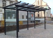 Melbury Trolley Shelter