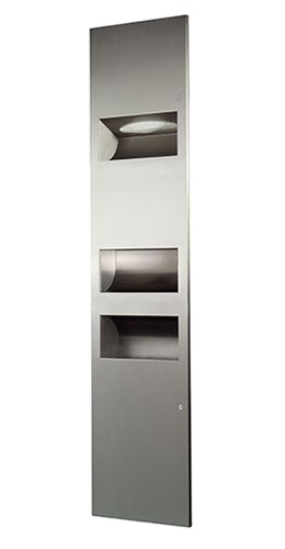 3 in 1 Combination Unit PAB with High Speed Hand Dryer - 02.4031