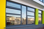 XT66 High Performance Window System with XT6011 and XT6908 Tiltandturn, concealed gear