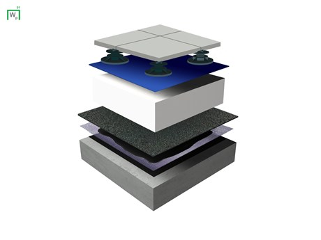 Wilotekt Plus ® Structural Waterproofing System - Inverted roof