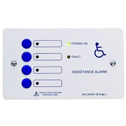 Disabled Toilet Alarm Controller 4way