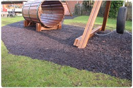 DekorGrip – Resin Bound Rubber Bark Mulch