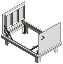 Bilco Drainage Doors JD-AL Double Leaf - JD
