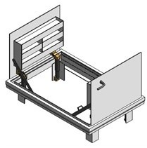 Bilco Drainage Doors JD-AL H20 Double Leaf - JD H20