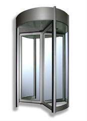 Tourlock 180 + 90 - 4 Wing - Revolving door