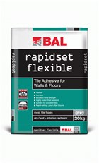 Rapidset Flexible - Tile adhesive