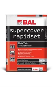 Supercover Rapidset - Tile adhesive