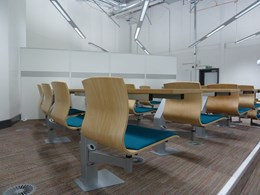 Inova Interactive Seating Double with Continuous Desk