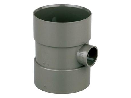 Cert PVC-U Bossed Pipe E 110 x 32 D/SW - Soil pipe coupler