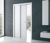 Telescopic Sliding Pocket Door - Single Standard