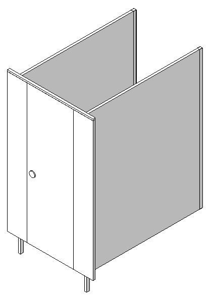 Single Panel Cubicle