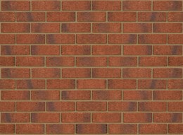 Anglian Red Multi Rustic 73 mm - Clay bricks