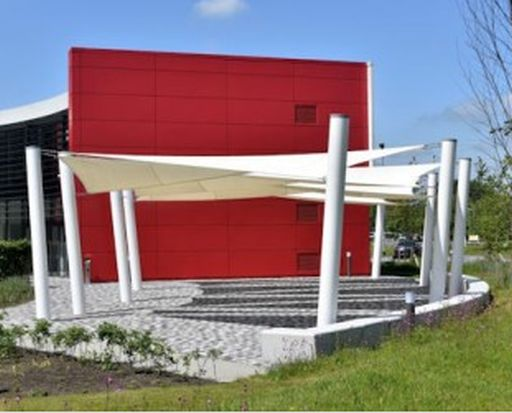Able Shade Sail - Triangular Canopy & Ennerdale Junior Cantilever Walkway - NBS National BIM Library