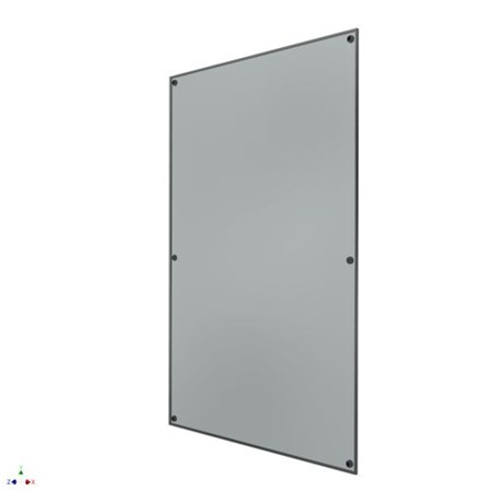 Pilkington Planar Insulated Glass Unit - Optiwhite 15 mm; Air 16 mm; Optiwhite K Glass 6 mm