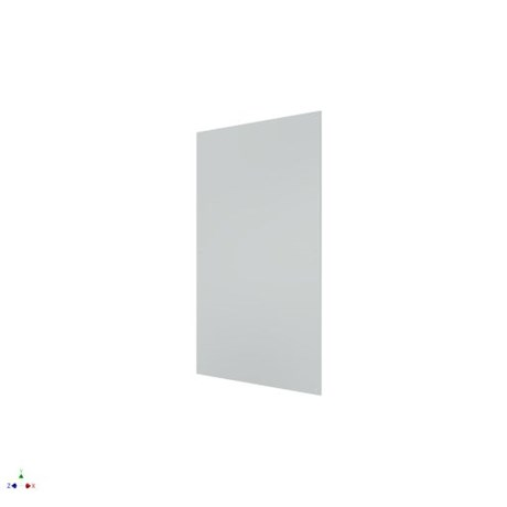 Pilkington Planar Single Glazed Laminate - Optiwhite 10 mm; Interlayer 1.52 mm; Optiwhite 6 mm