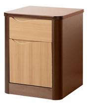 Acumen 1 Door 1Drawer Bedside Cabinet