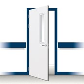 Postformed Single Doorset - Vision Panel 1
