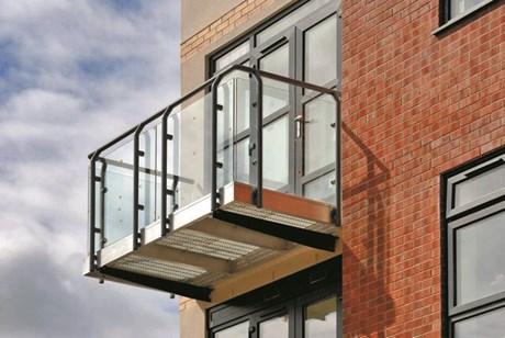 Spectrum Modular Balcony System -Curved