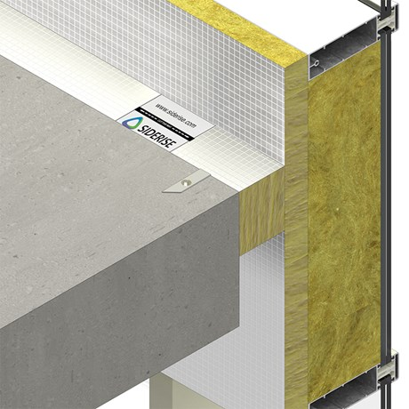 SIDERISE CW-FB curtain wall fireboard