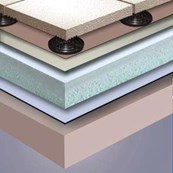 Inverted Ballasted Roof System
