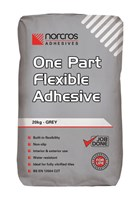 One Part Flexible Grey Adhesive