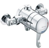 OP TS1503 ISOL C Opac Exposed Shower Valve with Isolating Elbows