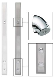 TFP3003 Fixed Temperature Timed Flow Shower Panel with VR Head