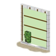 ANS Living Wall System - Battens Type
